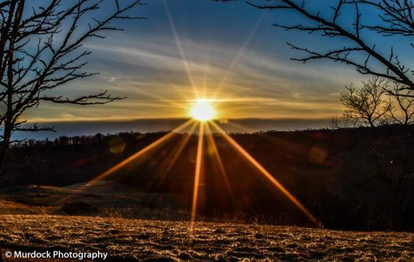 Ohio River Sunset Picture by JoshUA Murdock