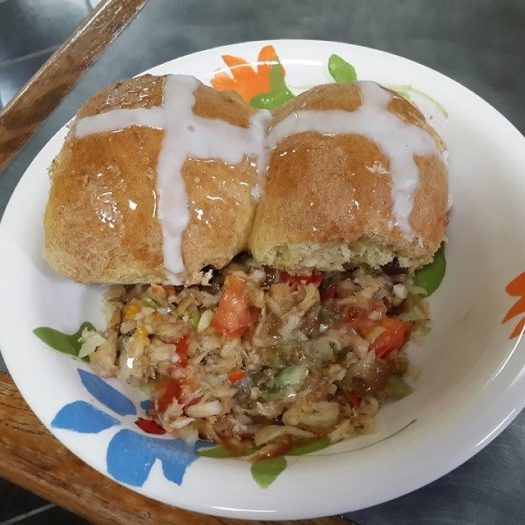 An island Easter meal