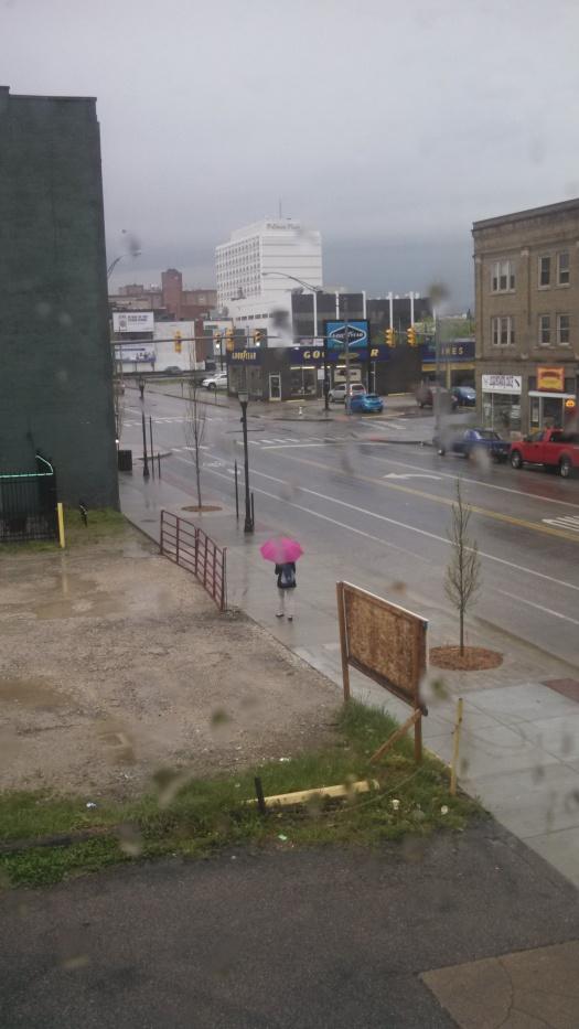 Rainy day in West Virginia
