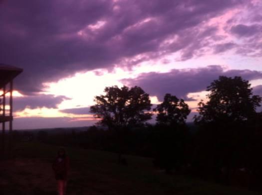 Under The Purple Sky